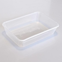 CONTAINER M/WAVE RECT 500ml (50/SLEEVE)) - Click for more info