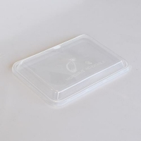 LID M/WAVE RECT CLEAR 'D' DOME (500) - Click for more info