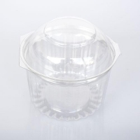 SHOW BOWLS 445ml (16oz) DOME LID (250) - Click for more info