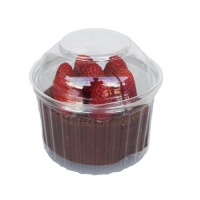 SHOW BOWLS 445ml (16oz) DOME LID (250)