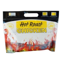 "BAG LAMINATE IKON "" HOT CHICKEN"" (500)"