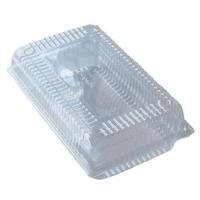 CONT CLEAR RECT H/LID SUPER (200) IK-SP4 - Click for more info