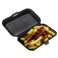 CLAM FOAM SNACK PACK BLACK (300) iK-FBC4 - Click for more info
