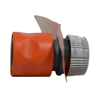 HOSE CONNECTOR FOR PLASTIC BRINE GUN - Click for more info
