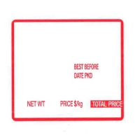 LABEL LBSA 002 (PER ROLL 25 IN CARTON) - Click for more info