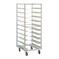 MOBILE TRAY RACK S/S TR12-TR12SS COLLAPS - Click for more info