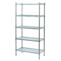 SHELVING WIRE 3TIER 1200X300X1350 (DNS) - Click for more info